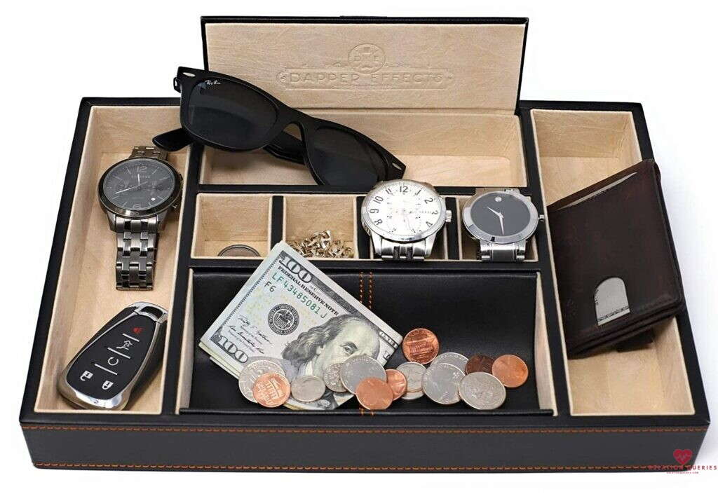 6-Month-Anniversary-Gifts-For-Him-Dapper-Effects-Valet-Tray-Organizer