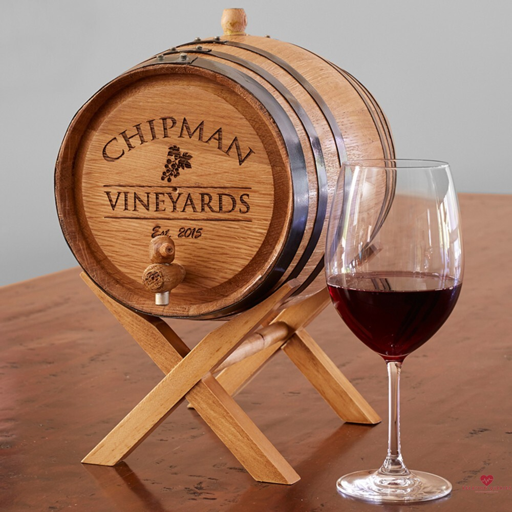6-Month-Anniversary-Gifts-For-Him-Personalized-Wine-Barrel