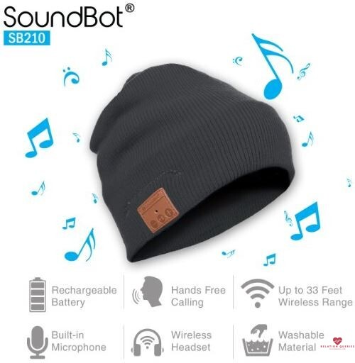 6-Month-Anniversary-Gifts-For-Him-Qshell-Bluetooth-Beanie