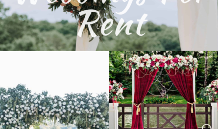 6 Cheapest Arches For Weddings For Rent | Available Here!