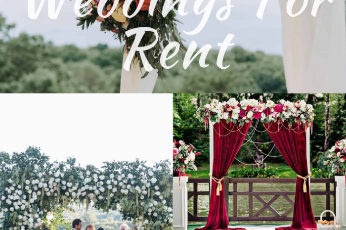 Arches For Weddings For Rent Available Here At Reasonable Prices