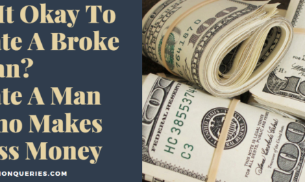 Is It Okay To Date A Broke Man Date A Man Who Makes Less Money