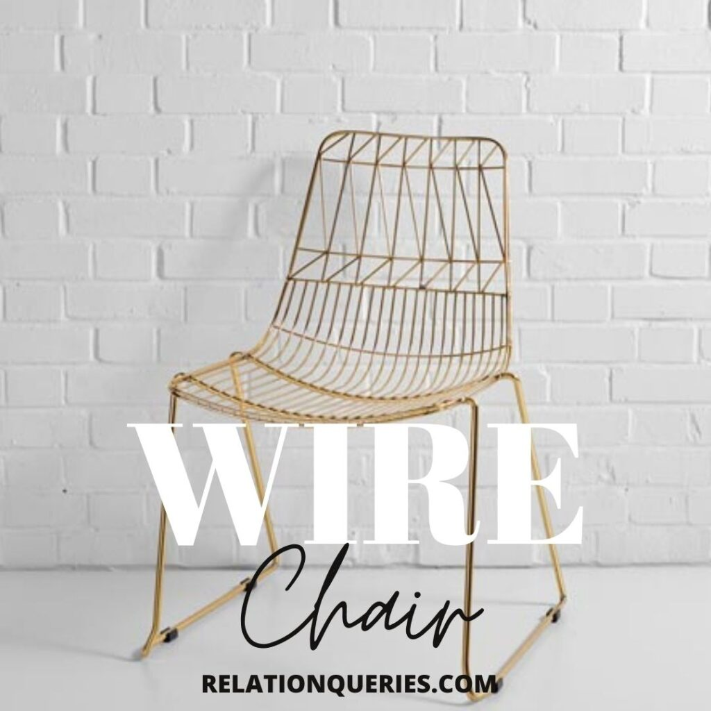 Wire Chair Rentals For weddings