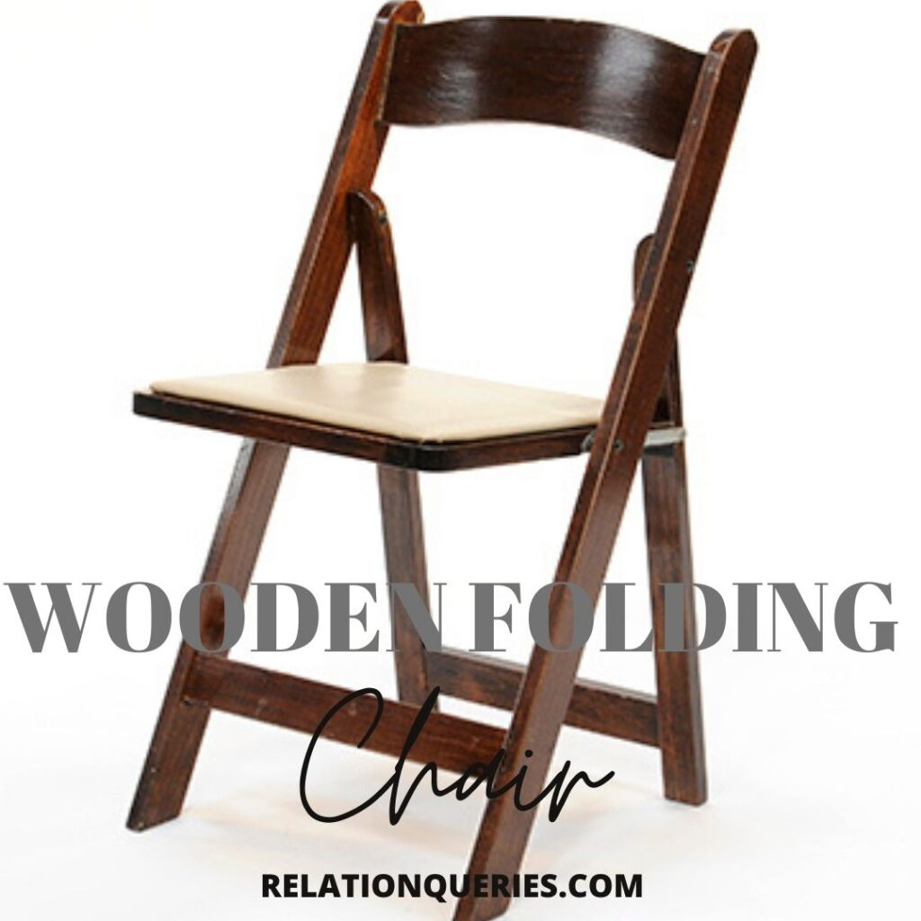 Wooden Folding Chair Rental For Weddings