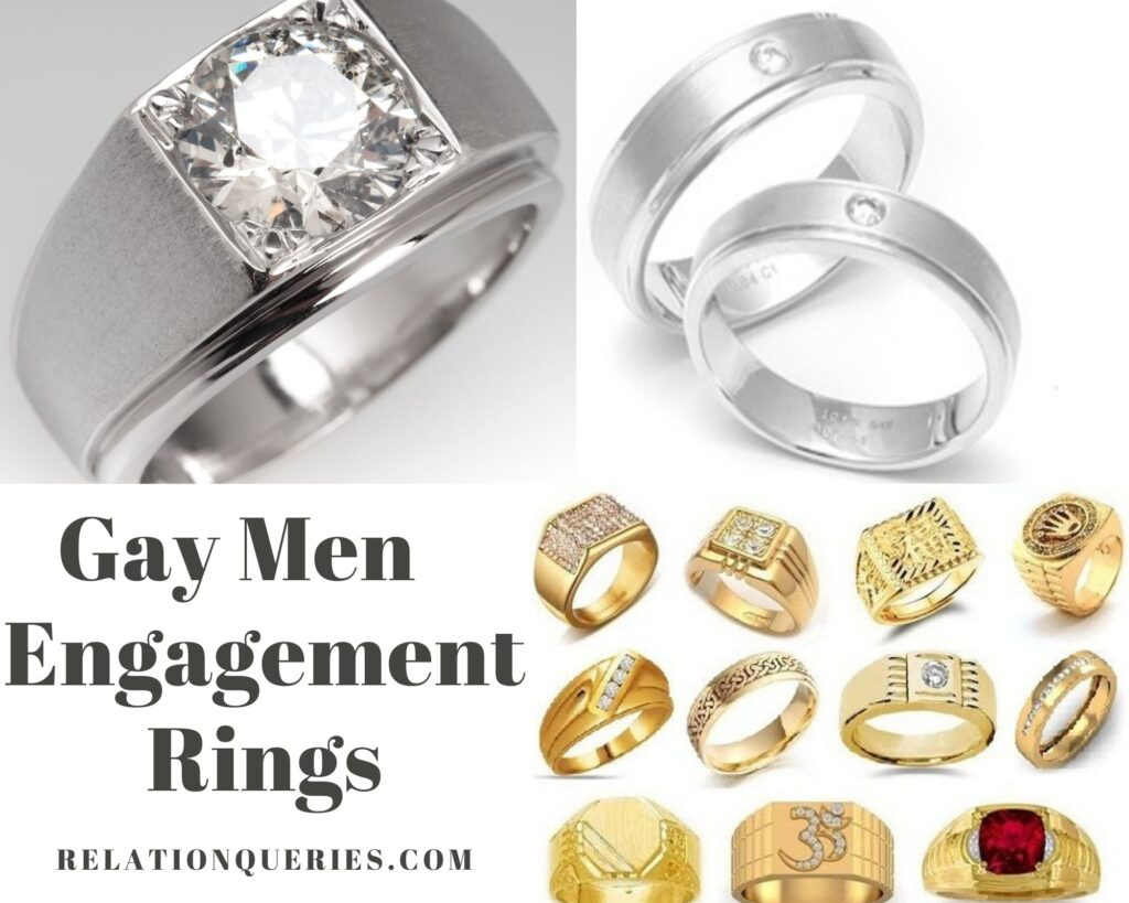 Gay Men's Engagement Rings